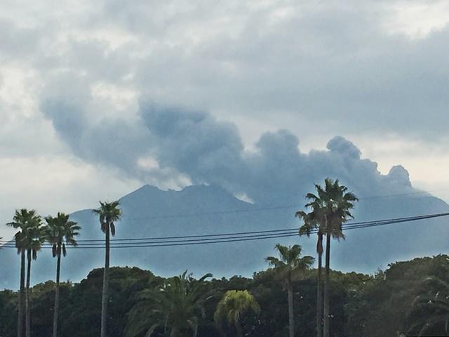 桜島噴煙1-2