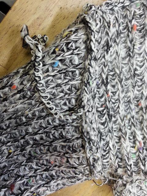 ローゲージニット袖丈④