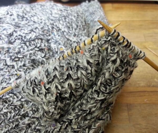 ローゲージニット袖丈⑪