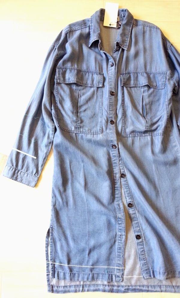 テンセルロングシャツ2