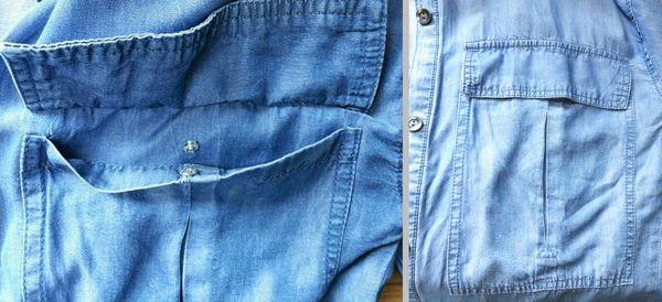テンセルロングシャツ6