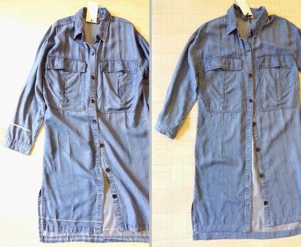 テンセルロングシャツ7