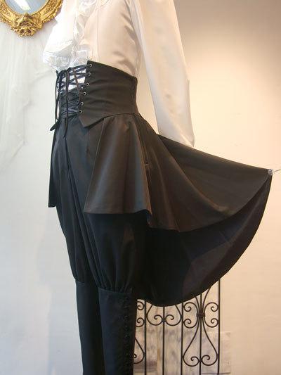 メンズヘクトルミニオーバースカート[M1468]
