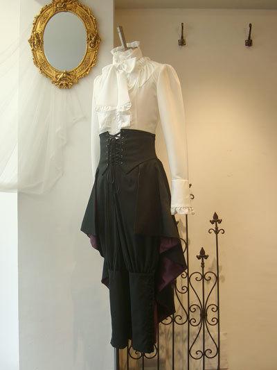 メンズヘクトルロングオーバースカート[M1469]
