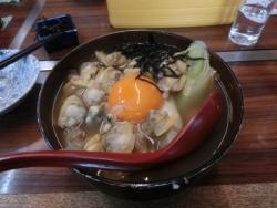 深川セット:丼ぶり・小付(昆布)