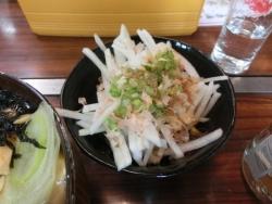 深川セット:大根サラダ