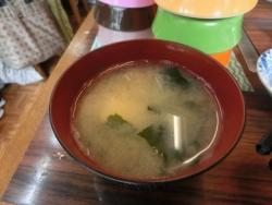 深川セット:味噌汁