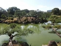 中の島からの鶴島
