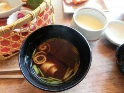 味噌汁 茶碗蒸し