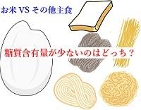 糖質含有量(主食)