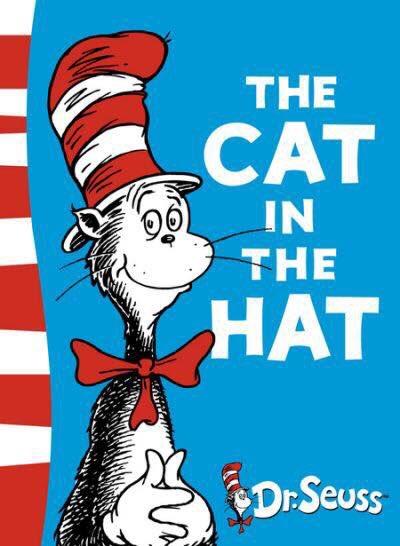 元ネタのDr.Seussさんの作品(映画・絵本)Cat in the Hat(邦題:ハットしてキャット)