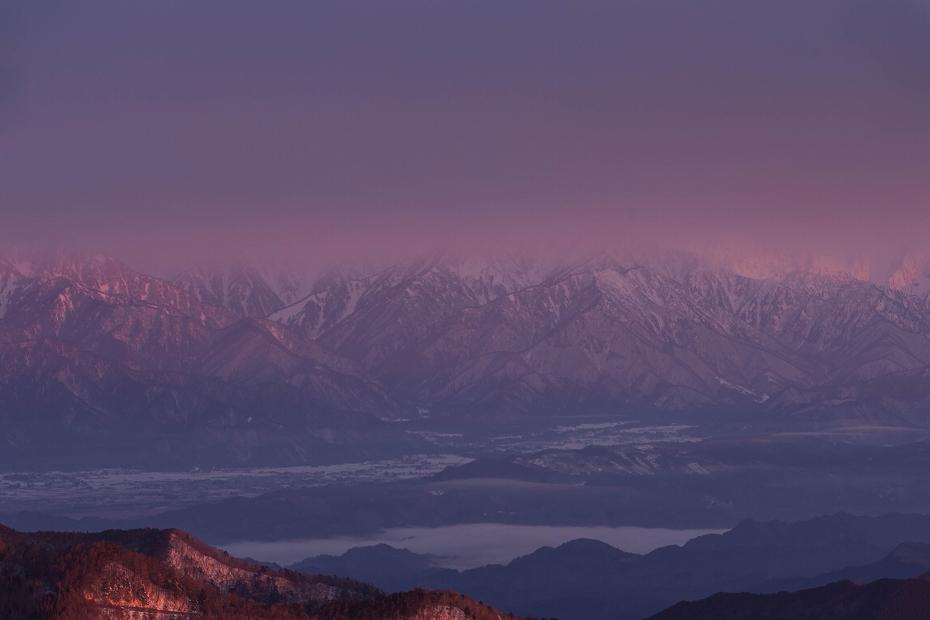 2017.02.14美ヶ原高原の朝景11