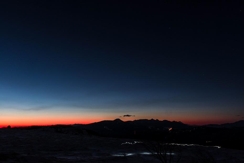 2017.02.14美ヶ原高原の朝景4