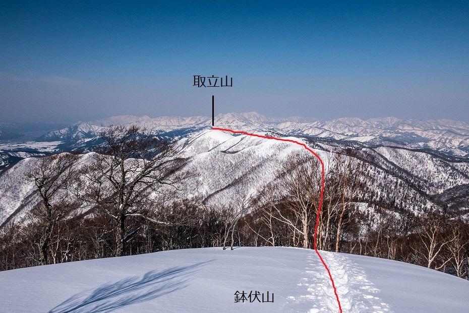 2017.03.04大長山_取立山から鉢伏山展望20