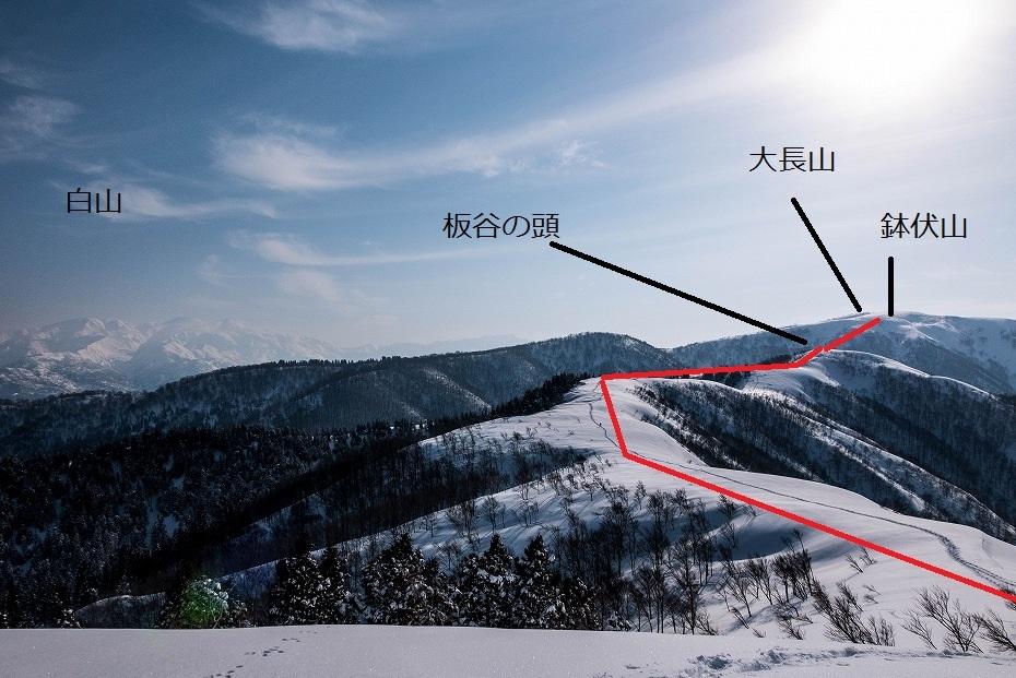 2017.03.04大長山_取立山から鉢伏山展望5