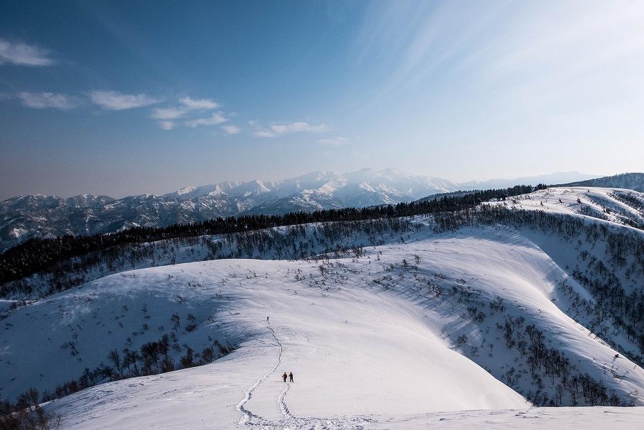 2017.03.04大長山_取立山から鉢伏山展望1