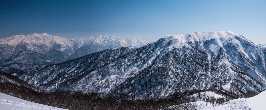 2017.03.04大長山_鉢伏山から大長山直前まで2.1