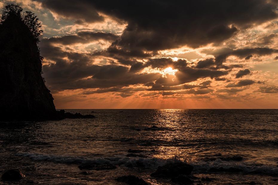 2017.03.11能登の夕陽1