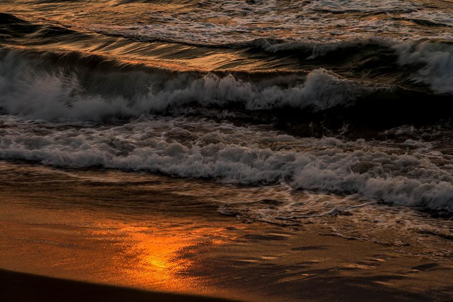 2017.03.22内灘海岸の夕焼け4