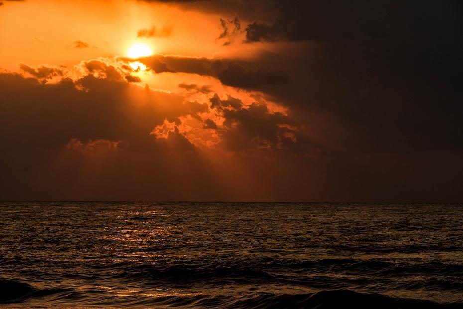 2017.03.22内灘海岸の夕焼け3