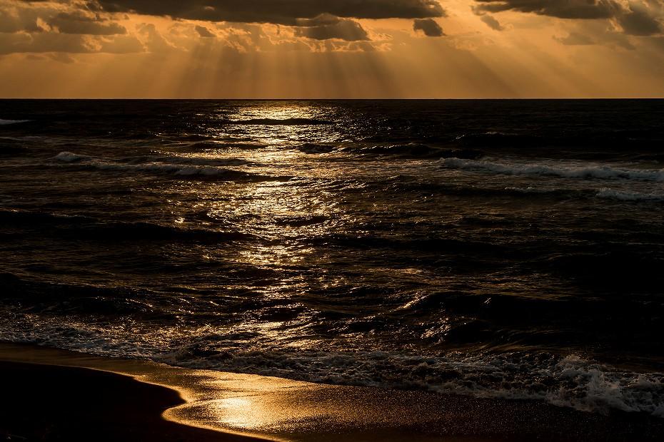 2017.03.22内灘海岸の夕焼け1