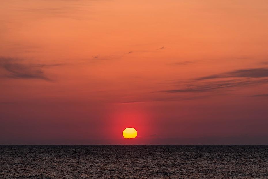 2017.03.25内灘の夕焼け4