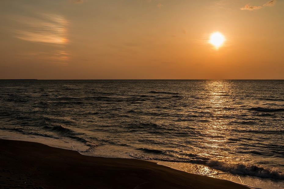 2017.03.25内灘の夕焼け2