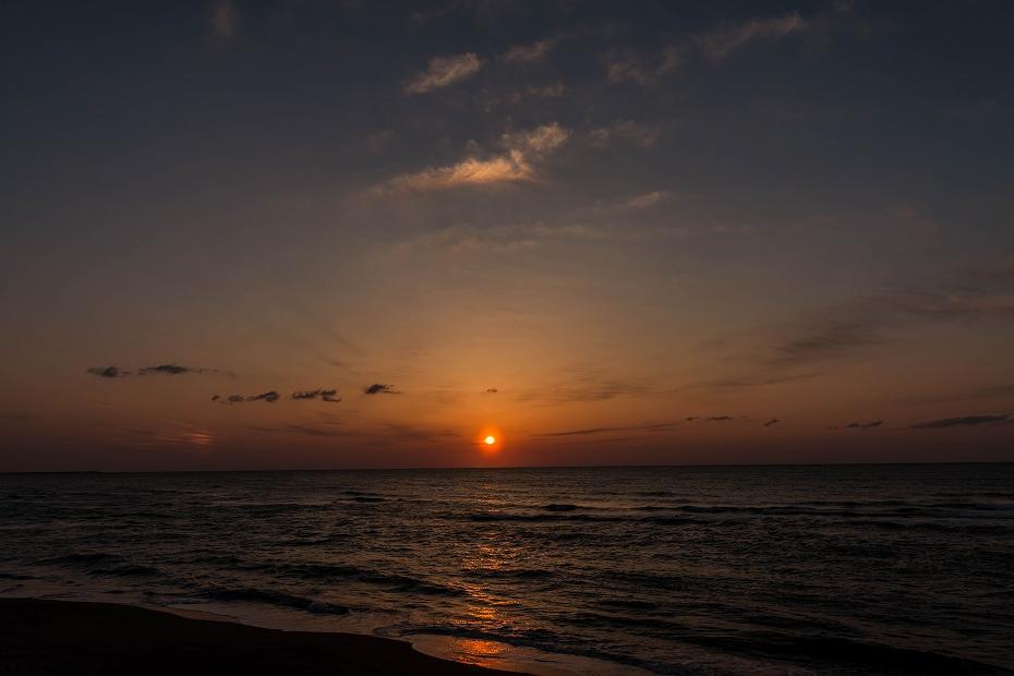 2017.03.25内灘の夕焼け3