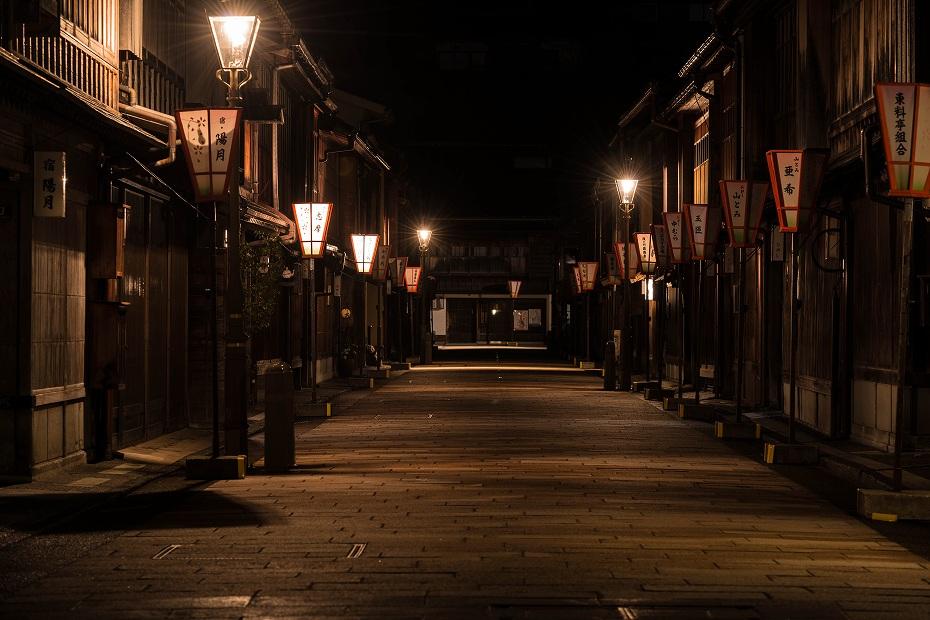 2017.04.10ひがし茶屋街の夜景2