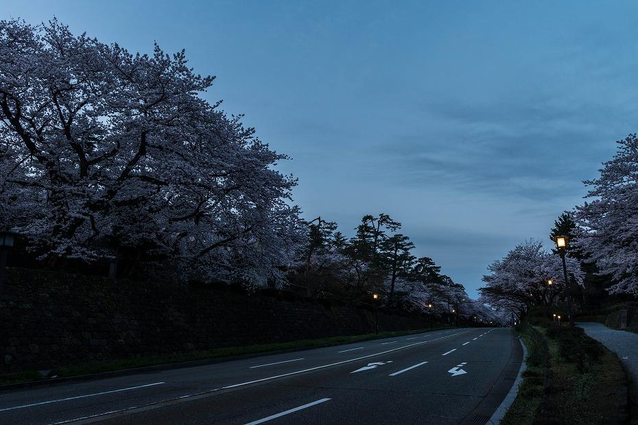 2017.04.10夜明けの金沢城8