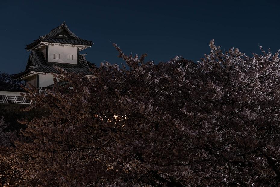 2017.04.10夜明けの金沢城1