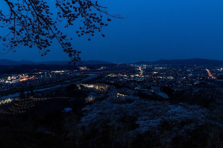 2017.04.14船岡城址公園からの夕景4