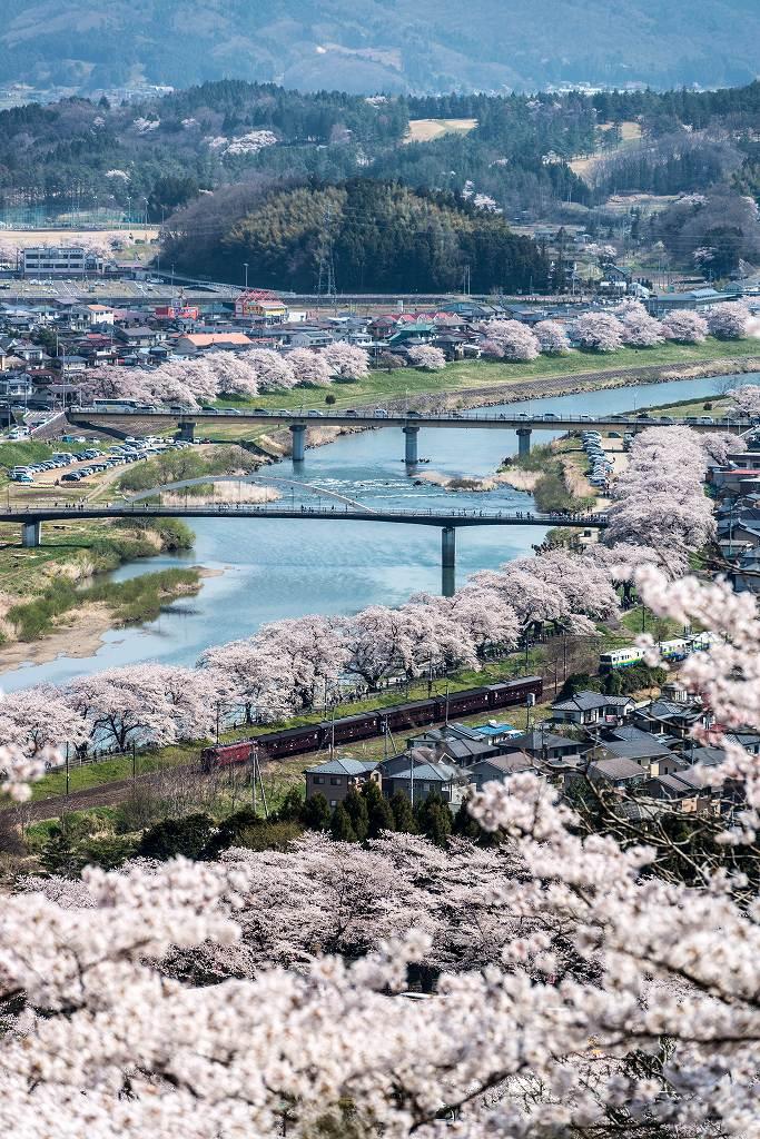 2017.04.16船岡城址公園からの展望3