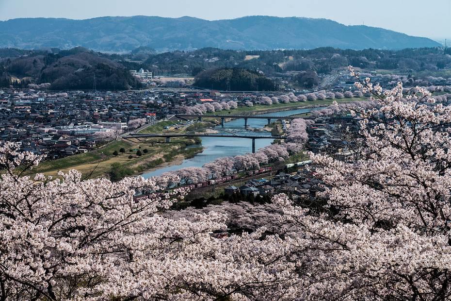 2017.04.16船岡城址公園からの展望2