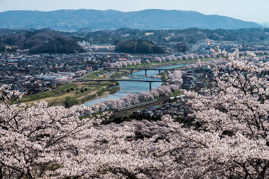 2017.04.16船岡城址公園からの展望1