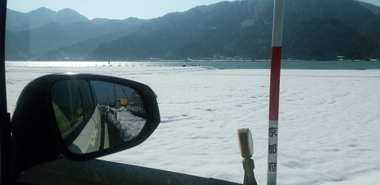 段々と雪深く
