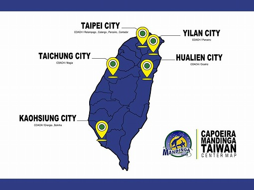 Mandinga TAIWAN center map