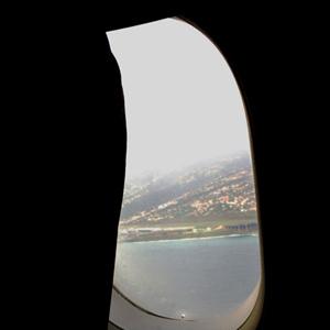 マデイラ空港見えた!