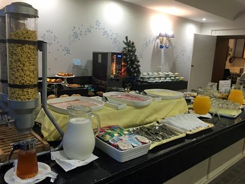 ホテル・マデイラの朝食