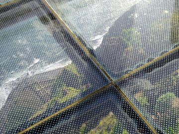CABO GIRÃO展望台のガラス板