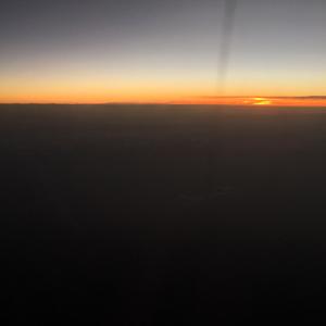 アゾレス諸島へ北上中
