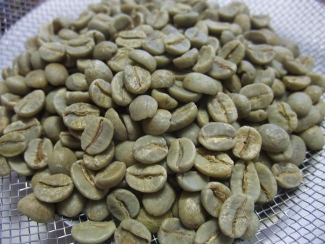 ブラジル産のコーヒー生豆