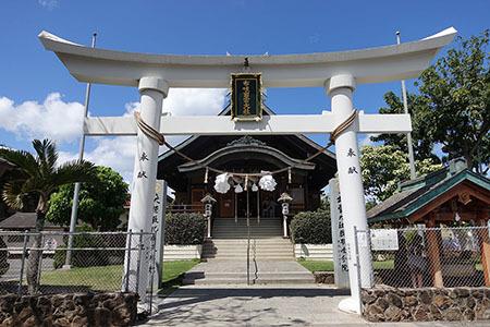 ハワイ出雲大社1