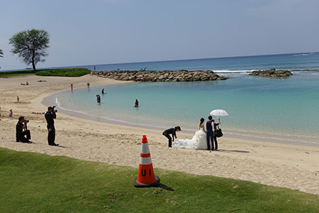 コオリナビーチ