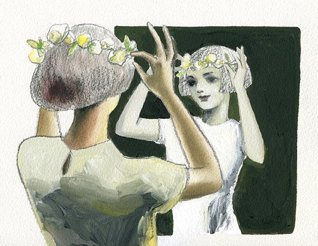 鏡の中のマリエ