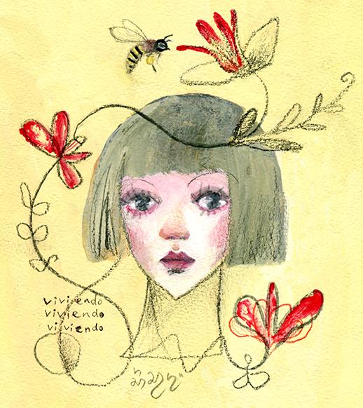 abeja  amor