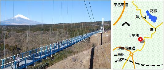 三島大吊橋マップ