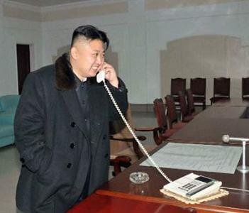 正恩  電話