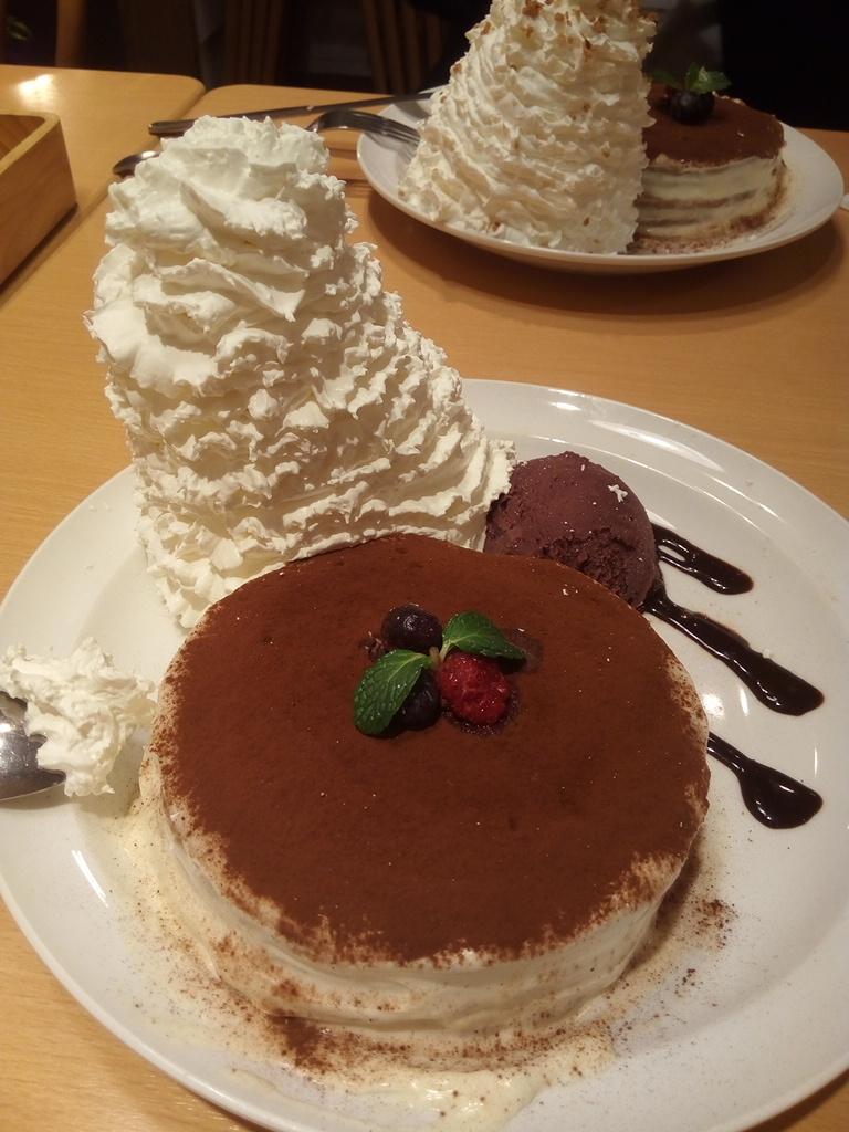 7周年パンケーキ