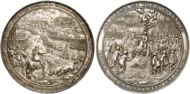ウラジスラフ IV 1636 メダル